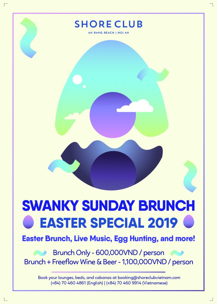 Swanky Sunday Brunch on Easter