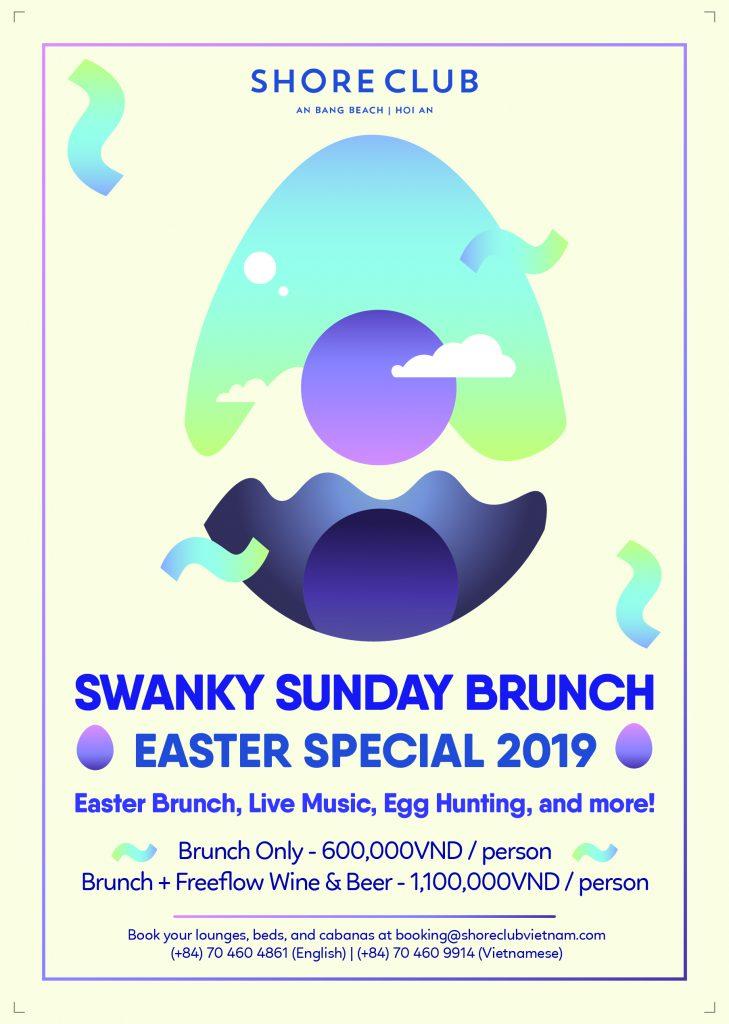 Swanky Sunday Brunch on Easter