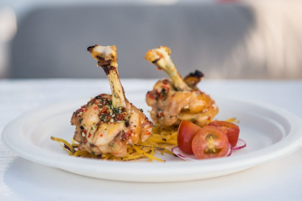 Chicken Wing & Drumstick - Restaurant Menu - MOYO Beach Club - An Bang Beach Food & Music Festival