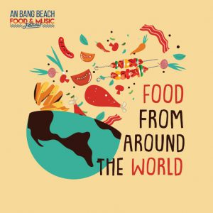 Food from Around the World - Hoi An Restaurants - An Bang Beach Food & Music Festival