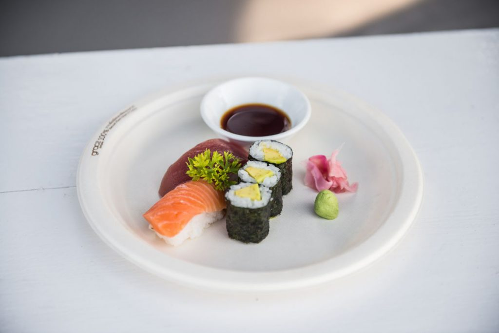 Mixed Sushi - Restaurant Menu - Shore Club - An Bang Beach Food & Music Festival