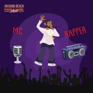 MC & Rapper Enfluence - An Bang Beach Food & Music Festival