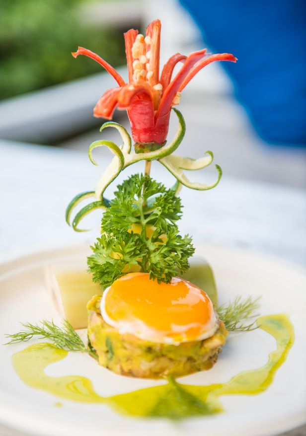Salmon Tartare with Avocado - Restaurant Menu - Shore Club - An Bang Beach Food & Music Festival