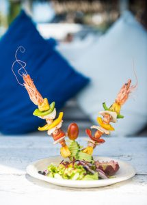 Grilled Seafood Skewer - Restaurant Menu - Shore Club - An Bang Beach Food & Music Festival