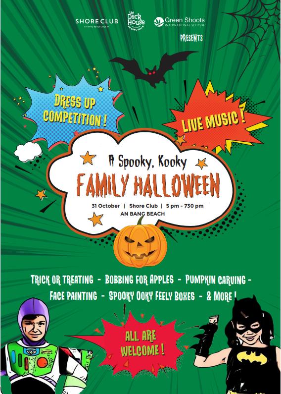 A Spooky, Kooky Family Halloween