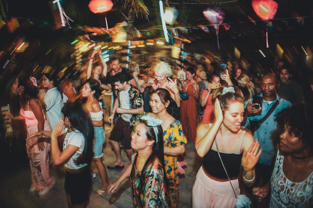 Party time at Shore Club, An Bang Beach